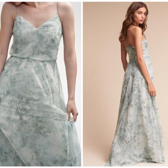 5181cec175e4 Jenny Yoo Dresses & Skirts - BHLDN Jenny Yoo Inesse Dress -Mist Multi- Size